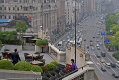 Shanghai scenic restaurant Royalty Free Stock Images