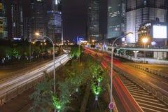 SHANGHAI SIGHTSEEING&NIGHT Fotografia Stock