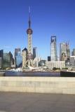 Shanghai-Skyline Lizenzfreies Stockbild