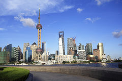 Shanghai skyline Stock Photography
