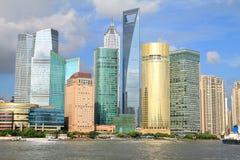 Shanghai-Skyline Stockbild