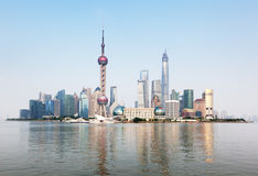 Shanghai skyline, Royalty Free Stock Image