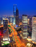 Shanghai-Skyline. China Stockfoto