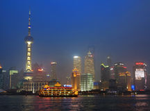 Shanghai Skyline,China Stock Photo