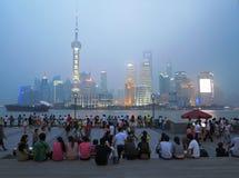 Shanghai Skyline,China Royalty Free Stock Image
