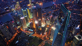 Shanghai-Skyline (China) Lizenzfreie Stockbilder