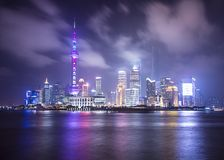 Shanghai Skyline Royalty Free Stock Image