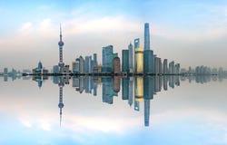 Shanghai Skyline, China Stock Photos