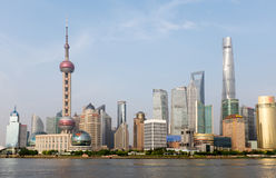 Shanghai skyline 2015, China Royalty Free Stock Photos