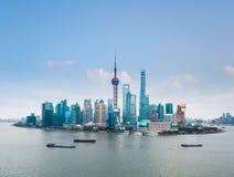 Shanghai skyline Royalty Free Stock Photo