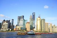 Shanghai skyline Royalty Free Stock Image