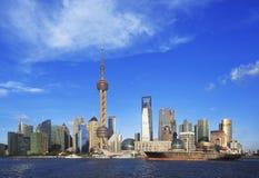 Shanghai skyline Royalty Free Stock Images