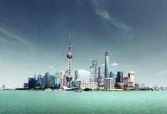 Shanghai skyline Stock Photography