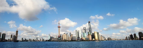 Shanghai skyline. Royalty Free Stock Images