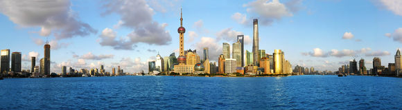 Shanghai skyline. Stock Images