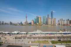 Shanghai Skyline view Royalty Free Stock Image