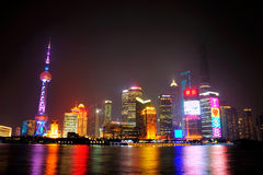 Shanghai Skyline Royalty Free Stock Photo