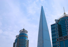 shanghai skyscapers Obraz Stock