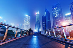 Shanghai skyscrapers Royalty Free Stock Images
