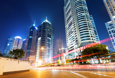 Shanghai skyscrapers Stock Photo