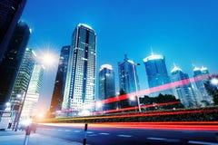 Shanghai skyscrapers Royalty Free Stock Photo