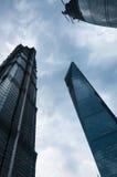 Shanghai skyskrapor Royaltyfri Bild