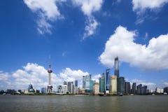 Shanghai soluppgång Royaltyfri Bild