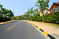 Shanghai Songjiang road construction Royalty Free Stock Photography