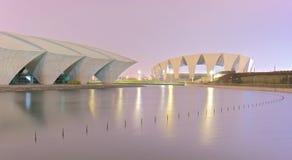 Shanghai-Stadion stockbilder