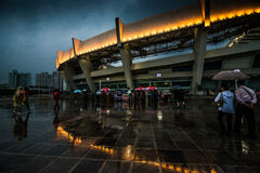Shanghai stadion Royaltyfria Foton