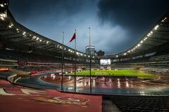 Shanghai stadion Arkivfoto