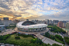 Shanghai Stadium Royalty Free Stock Images