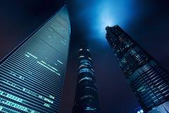 Shanghai stadsscape, Shanghai luajiazuifinans och affär dis Royaltyfria Bilder