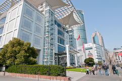 Shanghai-Stadtplanungs-Ausstellungs-Mitte Lizenzfreie Stockbilder