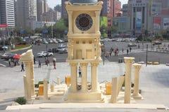 Shanghai storslagen nyckel 66 rymde utställning för det helgonSeiya OL temat Royaltyfri Foto