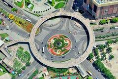 Shanghai-Straßenkarussell Lizenzfreie Stockfotos