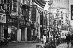 Shanghai street Royalty Free Stock Photo