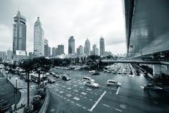Shanghai street view Royalty Free Stock Photos