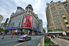Shanghai Street View Stock Photography