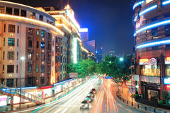 Shanghai street view Royalty Free Stock Photography