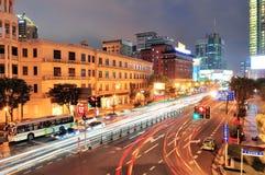 Shanghai street view Stock Photos