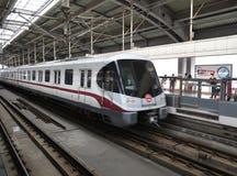 Shanghai  Subway,Light Rail Royalty Free Stock Image