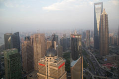 Shanghai sunset Stock Images
