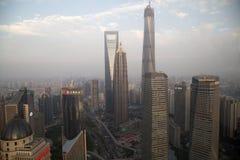 Shanghai sunset Royalty Free Stock Photo