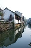 Shanghai  Suzhou. Ancient Suzhou, ancient streets, rivers and lakes Features Stock Photography
