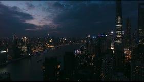 Shanghai& x27; tarde de s Fotografía de archivo