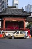 Shanghai Taxi royalty free stock photos