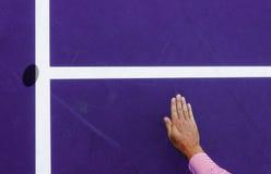 Shanghai-Tennisplatz Lizenzfreies Stockfoto