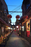 Shanghai tianzifangen Fotografering för Bildbyråer