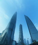 Shanghai top 3 building Royalty Free Stock Photography